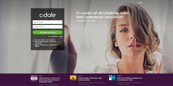 C-Date - casual dating med stil