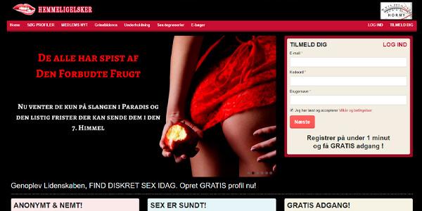 HemmeligElsker.com - diskret sexdating side i Danmark